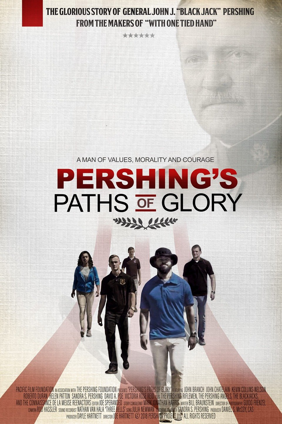 Pershing's Paths of Glory on FREECABLE TV