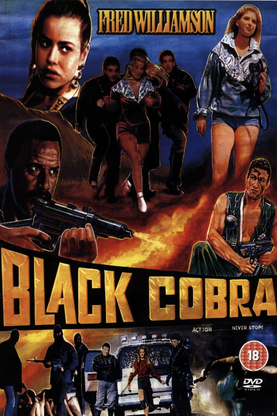 The Black Cobra on FREECABLE TV