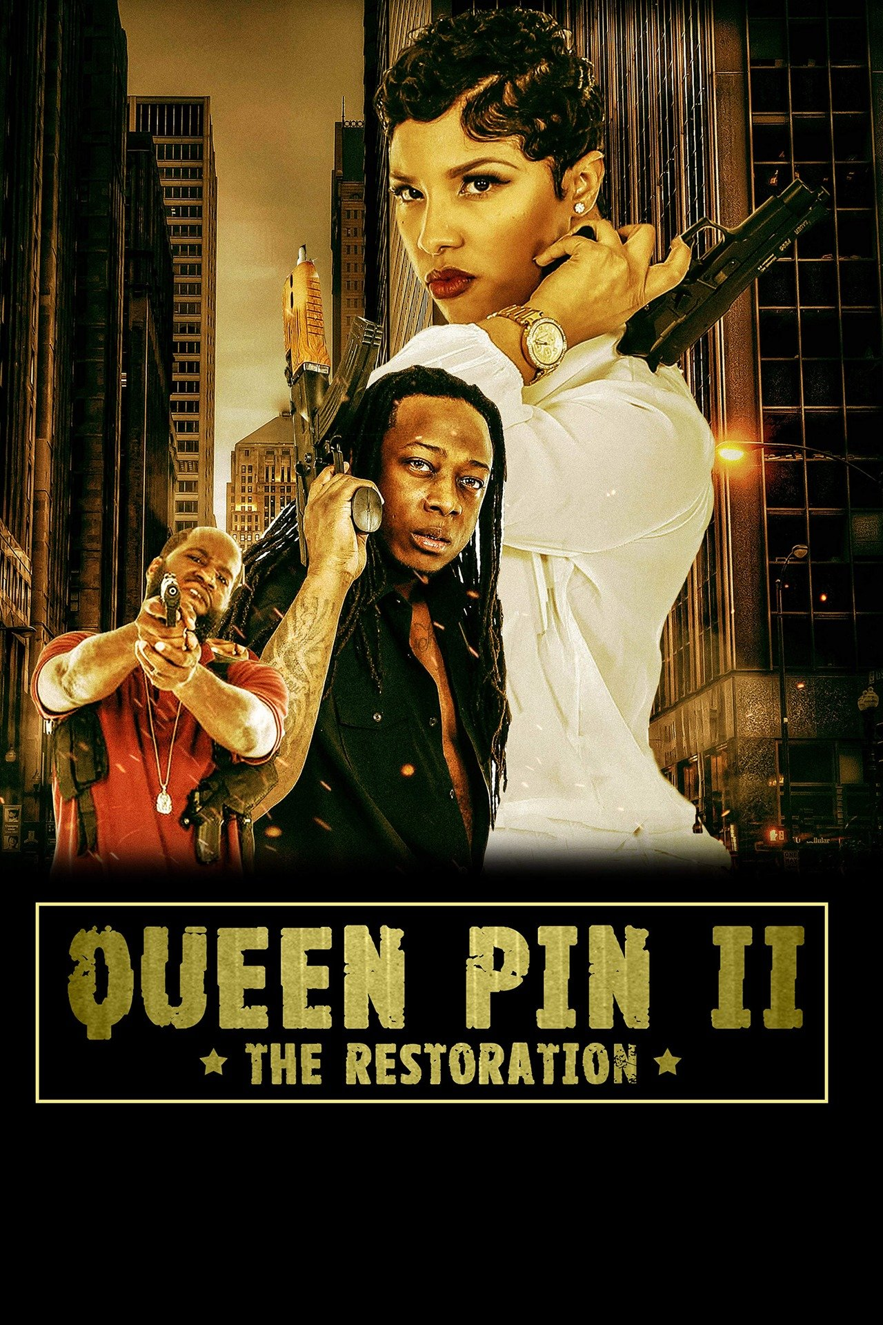 QueenPin II the Restoration on FREECABLE TV